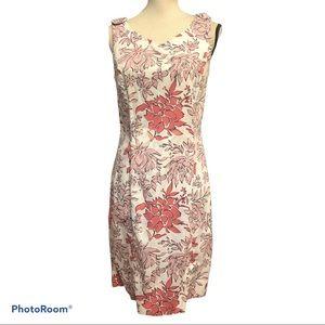 Brooks Brothers   Floral Sleeveless Dress